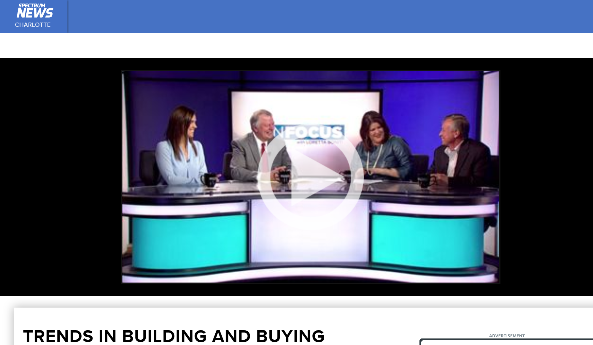 Spectrum News Interview