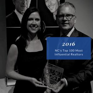 2016 NC Top 100 Most Influential Realtors