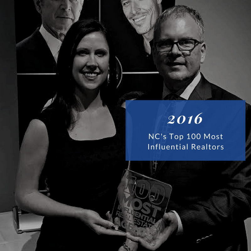 2016 NC Top 100 Most Influential Realtors
