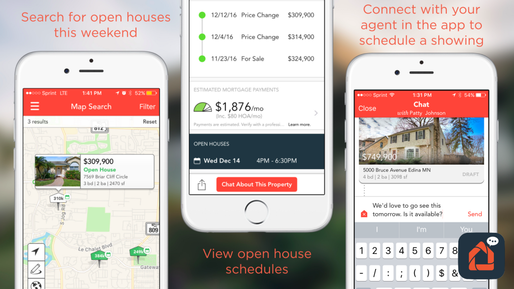 Find your next home using our app provided by your discount real estate broker