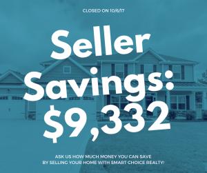 Discount Real Estate Broker Raleigh Seller Savings of $9,332 in color