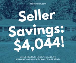 Discount Real Estate Broker Raleigh Savings of $4,044 in color