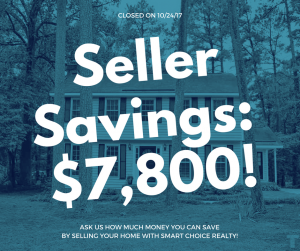Discount Real Estate Broker Savings of $7,800 in color