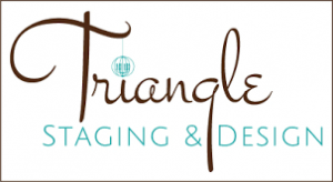 Triangle Staging and Design Logo